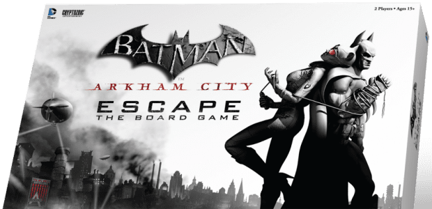 arkhamcityescape 3d box 0 Fight for Gotham on your table top next year