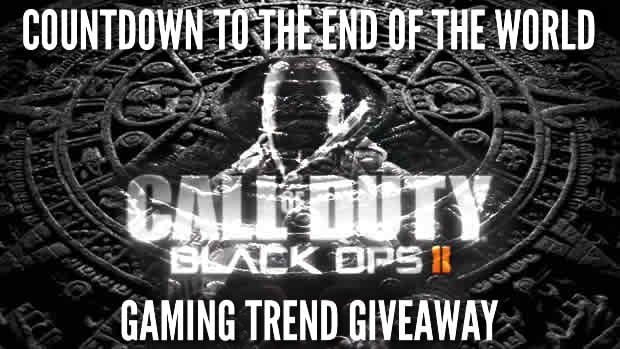 blopsII giveaway Gaming Trends Countdown to the End of the World Giveaway: Black Ops II