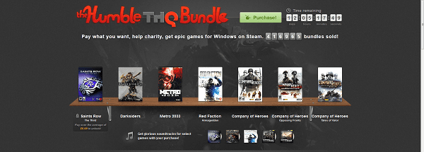 humble THQ Another day, another Humble Bundle