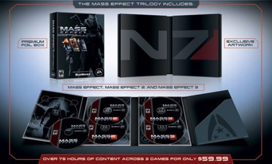 mass effect trilogy box Mass Effect Trilogy Trailer Excites Fans for N7 Day