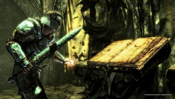 BlackBook 1024x576 Skyrim: Dragonborn to Release Tomorrow on Xbox with PC and PS3 Incoming