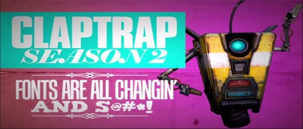 Claptrap Season 2 Claptrap Episode Two