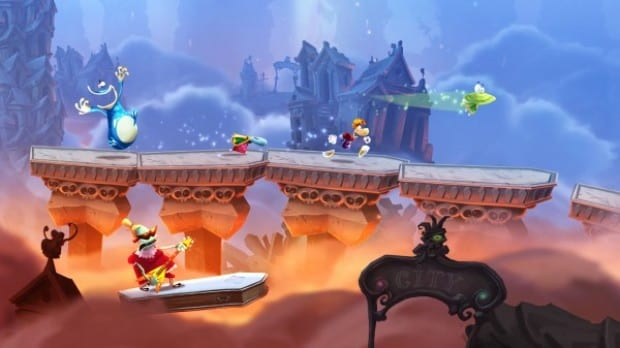 RaymanLegends Rayman Legends hits the eShop   weve got Video!