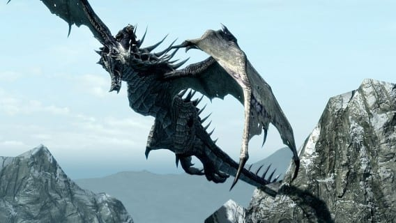 Skyrim-Dragonborn-Screenshots-Dragon-Mounts