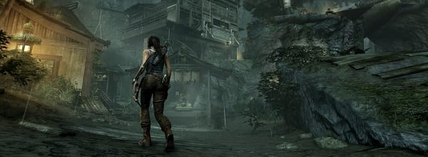 VillageHub Tomb Raider Screenshots showcase new Lara Croft.