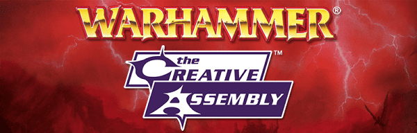 WH CA logo resize Next Warhammer Game to be made by creators of Total War series