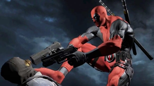 deadpool game Deadpool gives his seasons greetings