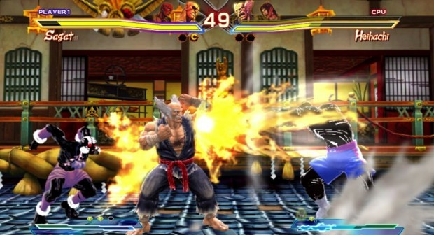 sfxtvita tgs 002 620x351 Fight two worlds in the palm of your hand    Street Fighter X Tekken PS Vita Review