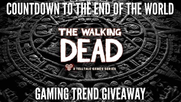 wd giveaway Gaming Trend's Countdown to the End of the World Giveaway: The Walking Dead