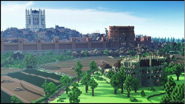 City 6 620x349 Crazy Minecraft project #47: A life sized recreation of Kings Landing.