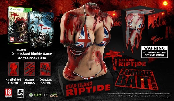 DeadIslandRiptideSE 71305 screen Dead Island: Riptide publisher reveals  and then apologizes for   UK special edition