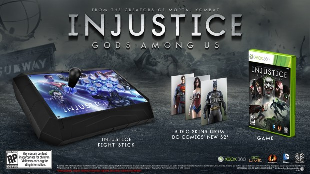 IGAU Battle Edition XBOX 620x348 Injustice: Gods Among Us to be released April 16th, with custom Fight Stick