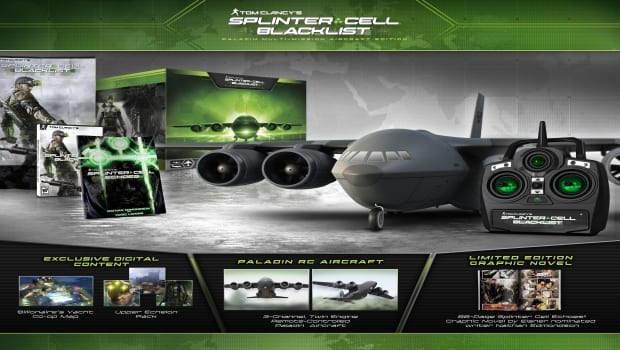 SCBL Paladin CE Splinter Cell Blacklist Collectors Edition announced with a video