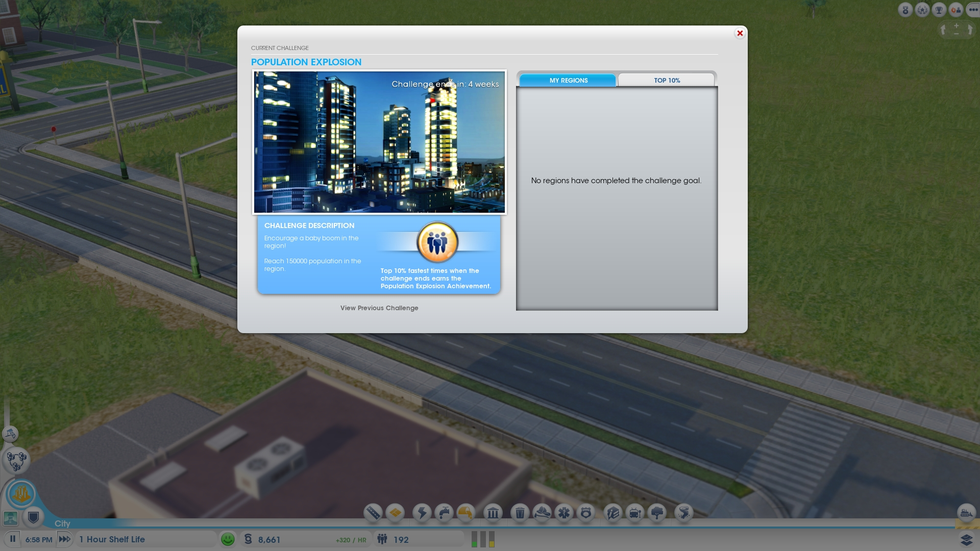SimCity_Challenges