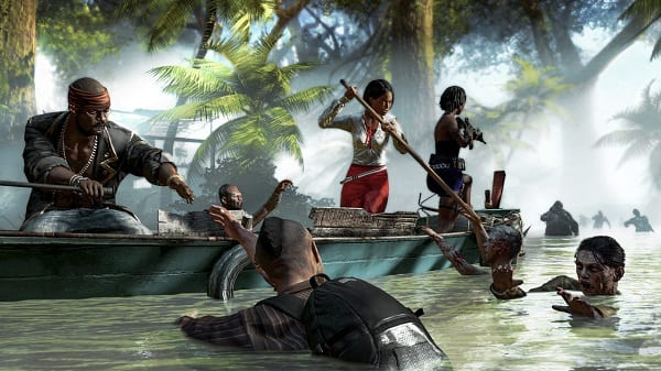 diriptide screen01 ed Dead Island Riptide video showcases hub defense tactics.