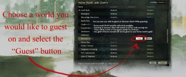gw2guesting Guild Wars 2 to add cross server guesting on January 28