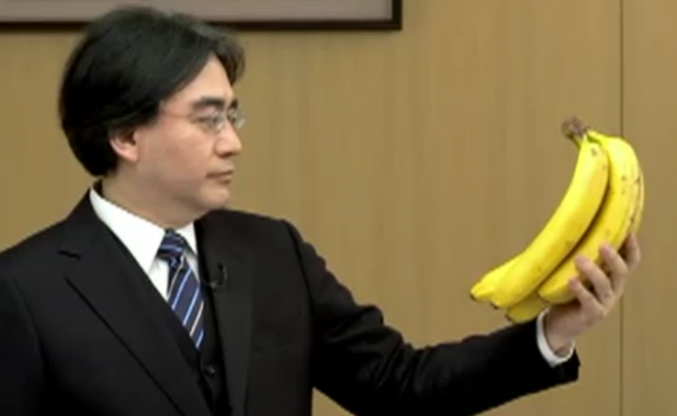 iwata banana 620x381 Nintendo Direct to air tomorrow at 6 AM PST