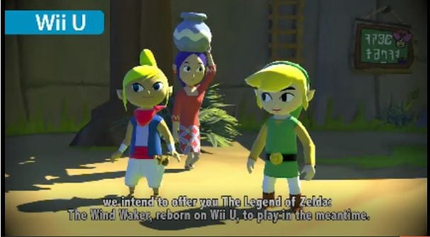 zelda wii u New Zelda game in development, Wind Waker HD to be released on Wii U