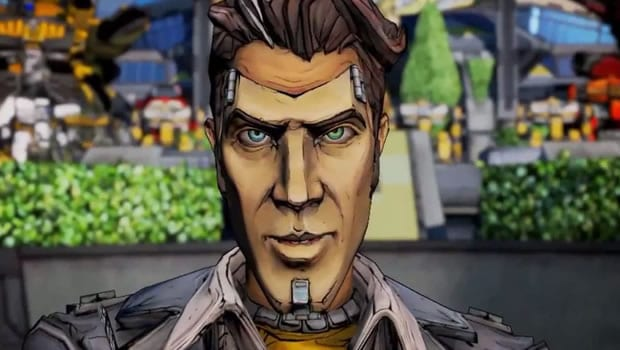 1.) Handsome Jack (Borderlands 2, 2K Games)