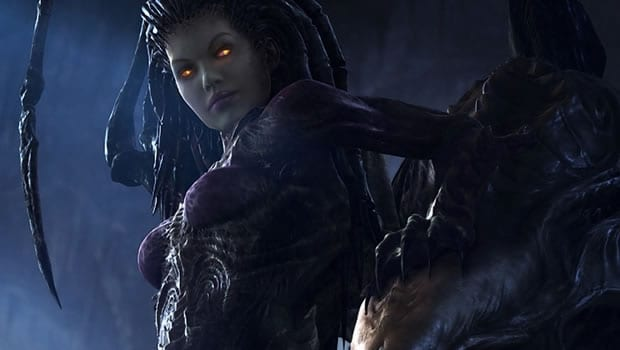 11.) Kerrigan (Starcraft Franchise, Blizzard Entertainment)