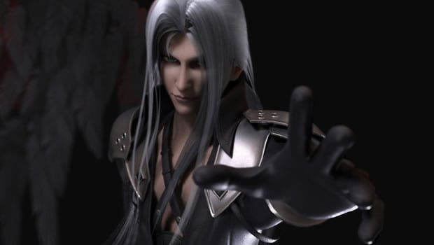 10.) Sephiroth (Final Fantasy VII, SquareEnix)