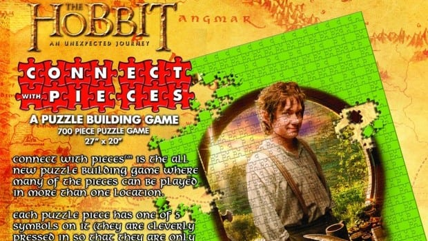 38951 Connect with Pieces Puzzle The Hobbit An Unexpected Journey 700 Pieces e1360298243512 WizKids announces puzzle strategy game Connect with Pieces