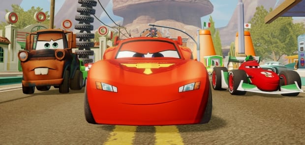 McQueen3 Cars joins Disneys Infinity line up