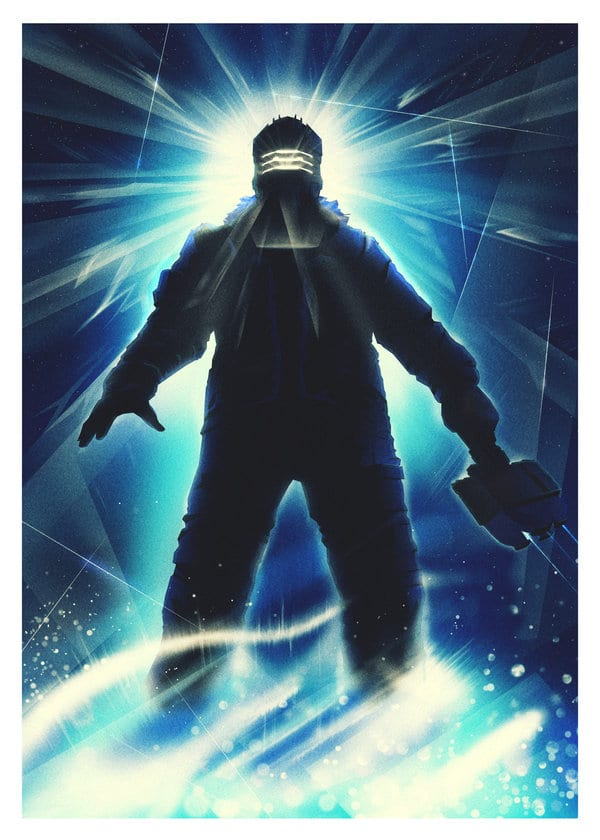 So this is cool    Check out this The Thing/Dead Space 3 poster