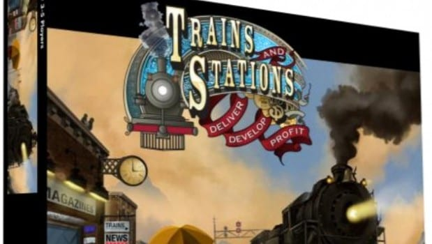 Trains and Stations Box