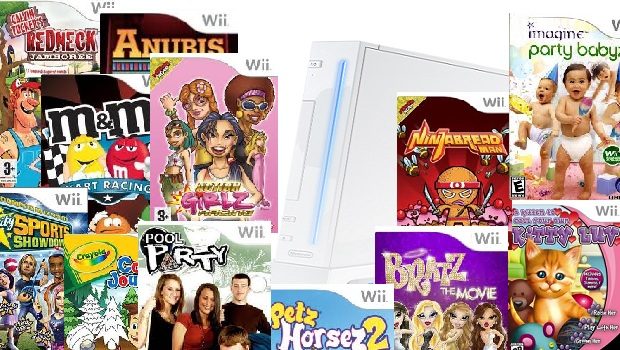 Wii shovelware Is nostalgia enough? Nintendo's future in gaming
