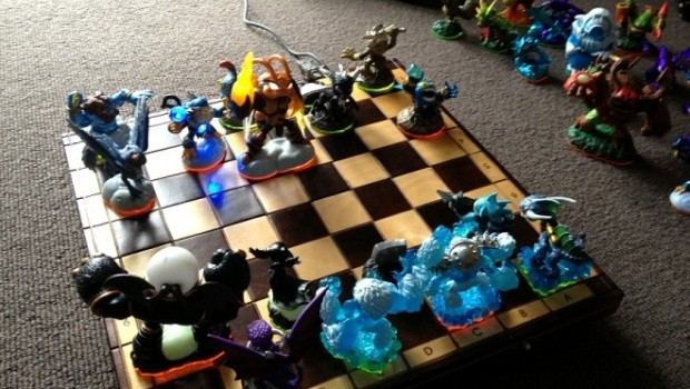 chess2 660x495 e1362036354978 Would you like to play a game of Skylanders Chess?