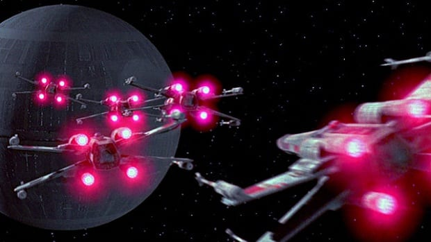 Death Star X Wing Kickstarter Battle