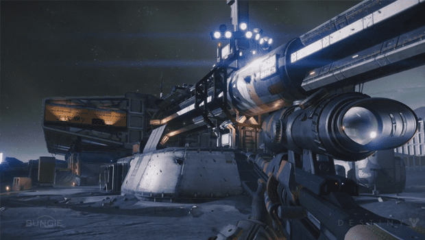 destiny PS4 Destiny movie released, showing off Bungies upcoming first person shooter world