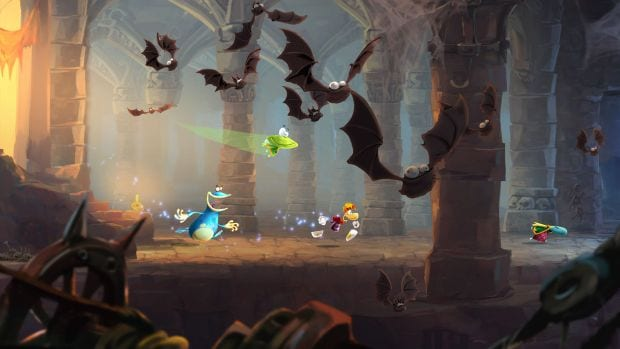 e3 2012 rayman legends screenshots New details emerge for the Wii Us exclusive Rayman Legends demo