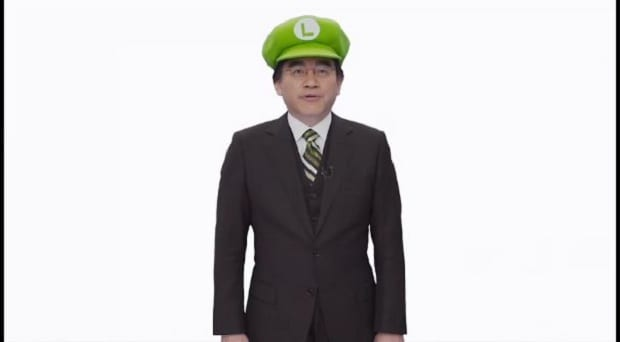 luigi iwata1 Nintendo declares 2013 the Year of Luigi, Animal Crossing gets release date