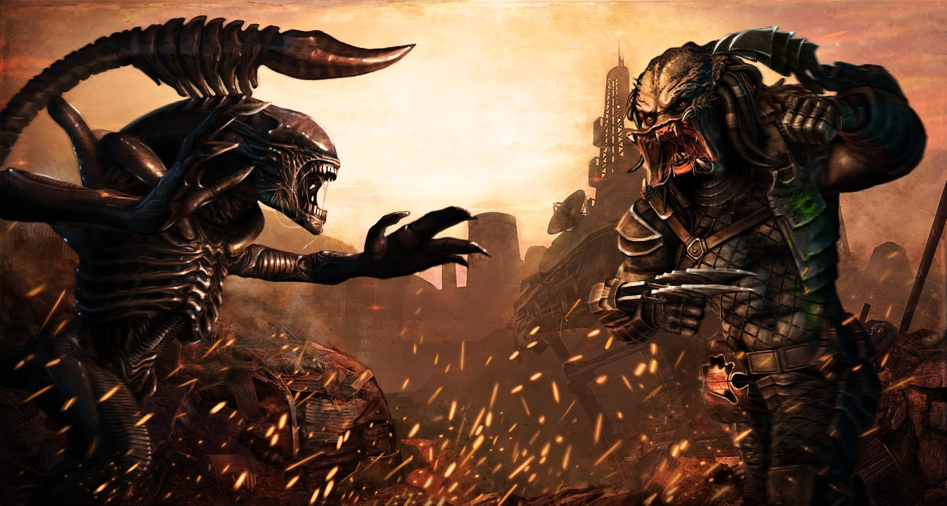 menu background Alien vs. Predator: EVOLUTION Android and iOS Release