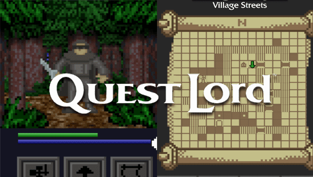 newleadin3 iOS QuestLord review: the spirit of 1980s RPGs is alive and well here.