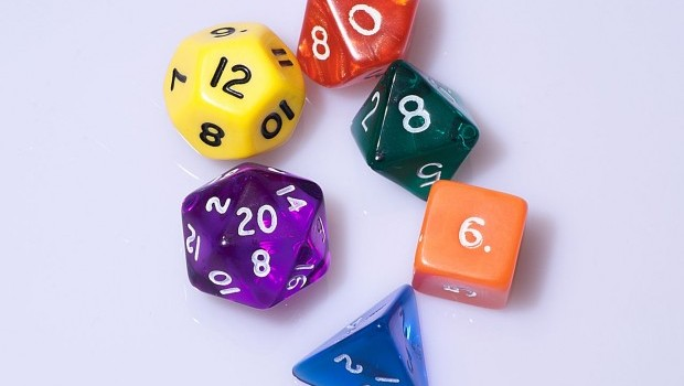 Typical RPG Dice
