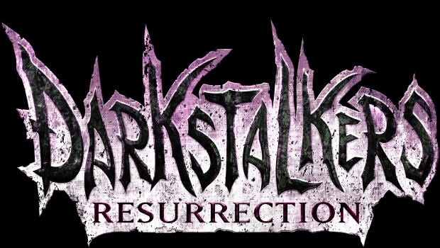 Darkstalkers Resurrection Logo   Transparent Darkstalkers Resurrection hits PSN and XBLA!