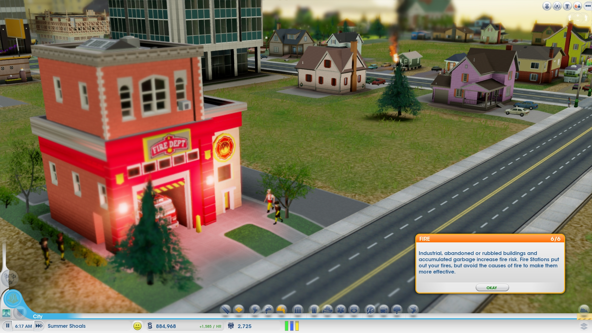 SimCity_Fire_Department