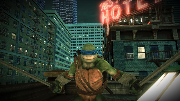 TMNTOutOfTheShadows Screen2 Cowabunga!  Activision announces a new TMNT game.