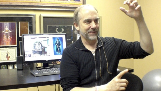 garriott Richard Garriott wants to bring the R back into RPG