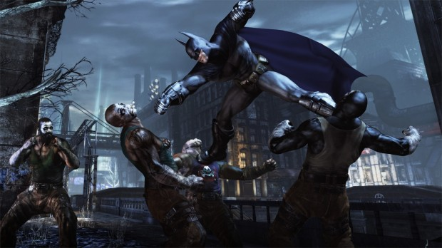Batman Arkham City 047 Double Takedown 87 620x348 Next Batman game goes back to the beginning.