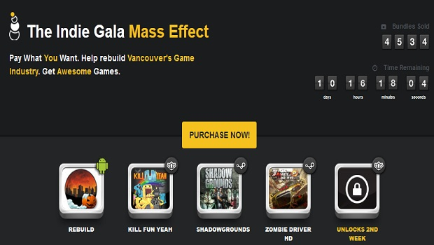 IndieGala Portion of Indie Gala proceeds funding political campaign