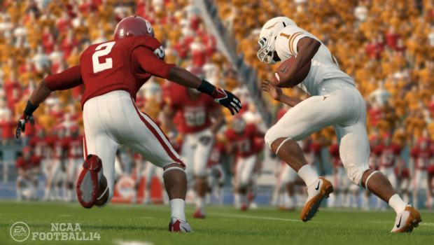 NCAAFB14 SCRN Presentation 4 New presentation additions highlighted in latest NCAA Football 14 Playbook