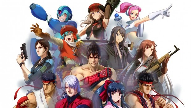 Project X Zone MainVisual e1365807227961 Project Zone X pits Namco against Capcom against Sega