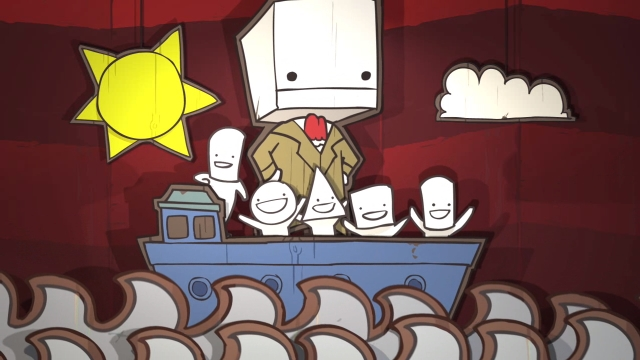 image001 Castle Crashers meets Broadway   BattleBlock Theater review