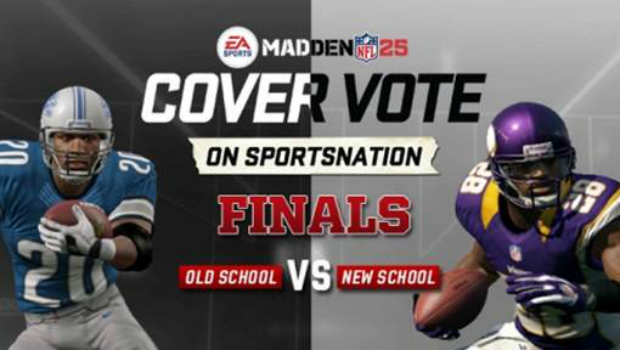 madden Sanders, Peterson faceoff for Madden 25 Cover Vote