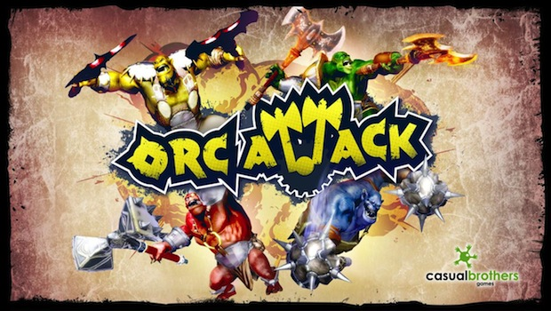 screenshot New trailer, box art for upcoming Orc Attack from Casual Brothers, Ltd.