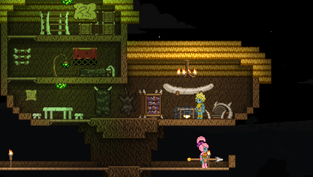 starbound Sci fi Terraria style game Starbound now available for pre order, 4 pack discounts